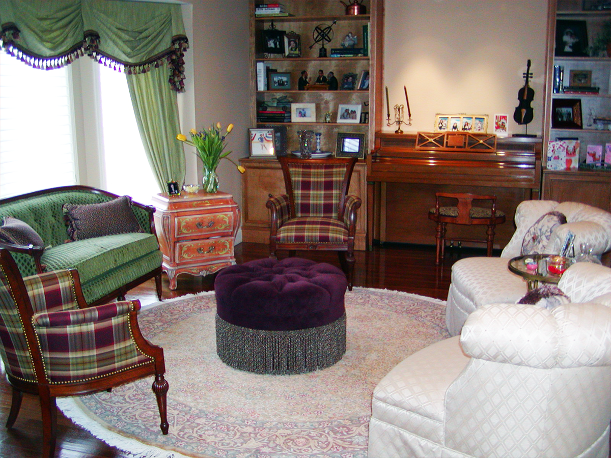 Upholstered Ottoman, Loveseat & Occasional Chairs